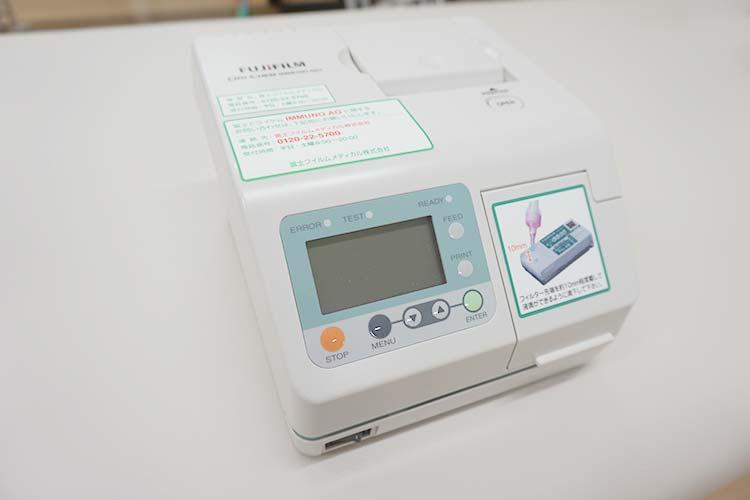 インフルエンザ検査装置