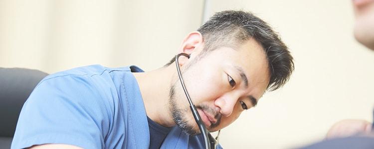 心臓疾患の専門医による内科診療